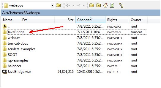 tomcat server payment gateway integration javabridge icici emi payment gateway  uploading javabridge war file on linux server