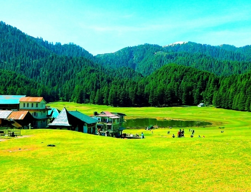 The mini Switzerland of India – Khajjiar, Himachal Pradesh.