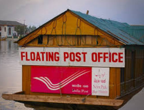 The Floating Post Office – One of the travel attractions in India.