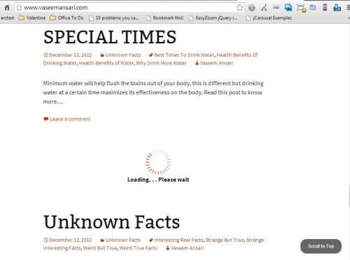 Simple Steps to add Infinite Scroll to a WordPress Blog