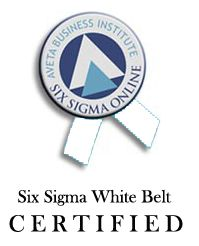 Six Sigma White Belt Certified